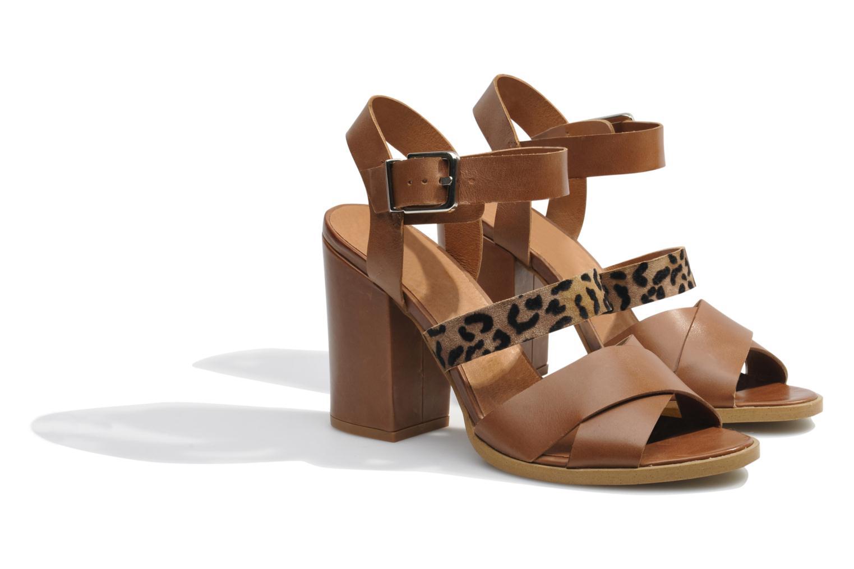 Sandalen Made by SARENZA Guimauve #7 braun ansicht von hinten