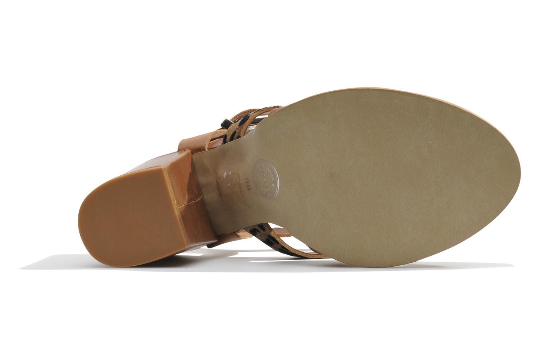 Sandalen Made by SARENZA Guimauve #7 braun ansicht von links