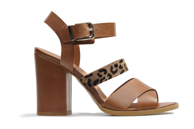 Sandales et nu-pieds Made by SARENZA Guimauve #7 Marron vue détail/paire