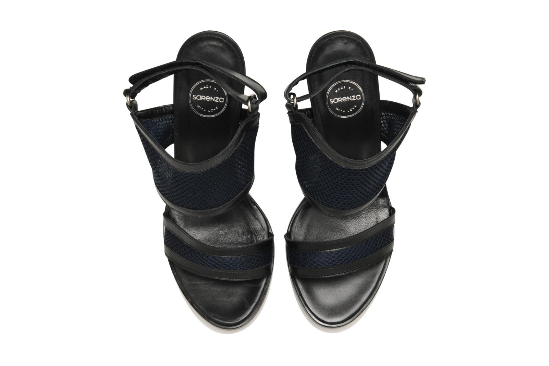 Sandalen Made by SARENZA Pool Party #1 blau schuhe getragen