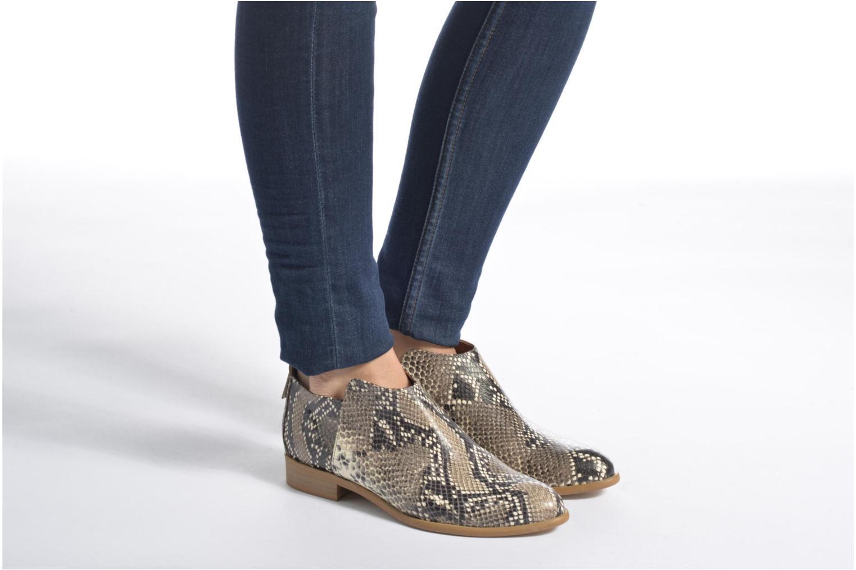 Bottines et boots Made by SARENZA Rock-a-hula #7 Beige vue bas / vue portée sac