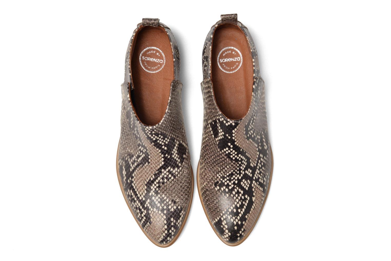 Bottines et boots Made by SARENZA Rock-a-hula #7 Beige vue portées chaussures