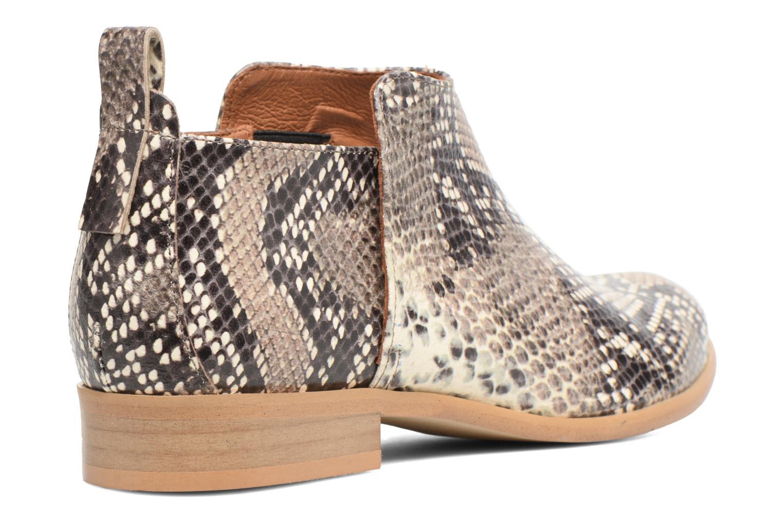 Bottines et boots Made by SARENZA Rock-a-hula #7 Beige vue face