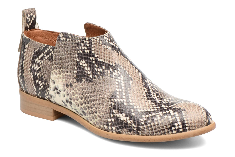 Bottines et boots Made by SARENZA Rock-a-hula #7 Beige vue droite