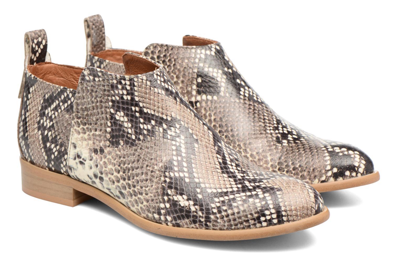 Bottines et boots Made by SARENZA Rock-a-hula #7 Beige vue derrière