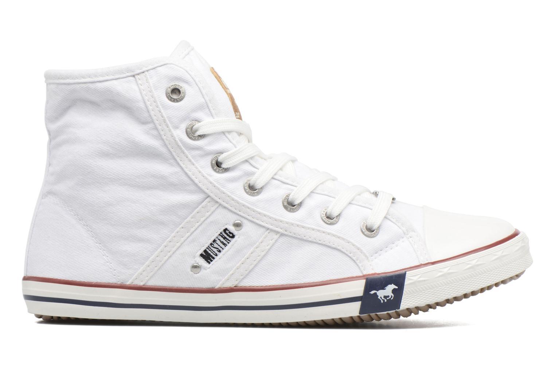 Sneaker Mustang shoes Mavon weiß ansicht von hinten