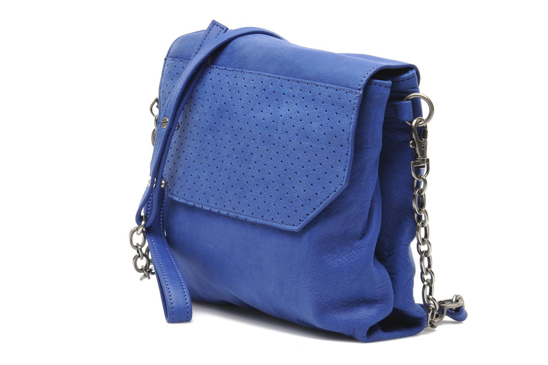 Sacs à main Nat & Nin L'Azuréen Bleu vue portées chaussures
