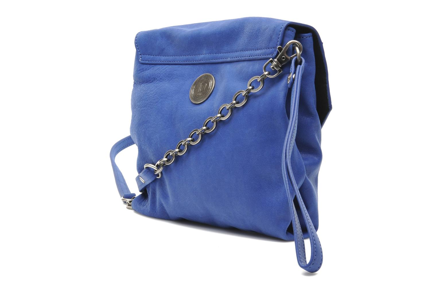 Handbags Nat & Nin L'Azuréen Blue view from the right