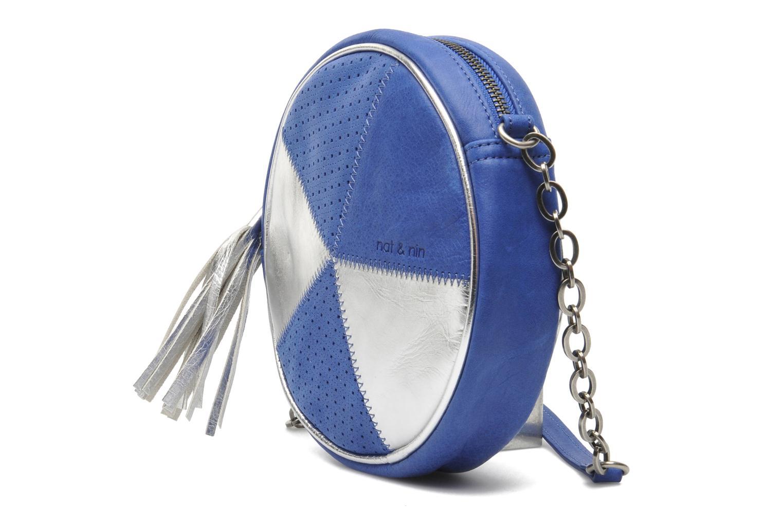 Sacs à main Nat & Nin Coney Island Bleu vue portées chaussures