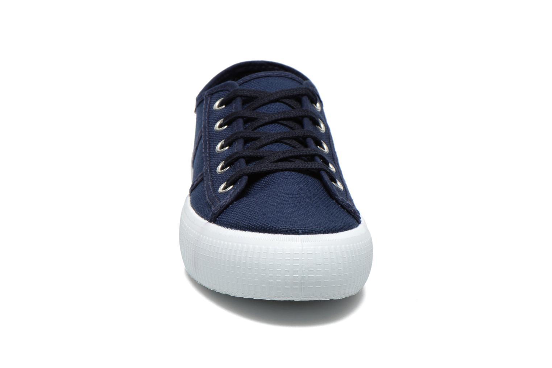 Sneaker Victoria Blucher Lona Gruesa blau schuhe getragen