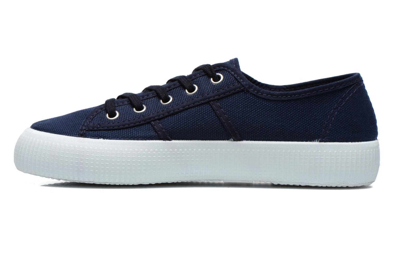 Sneaker Victoria Blucher Lona Gruesa blau ansicht von vorne