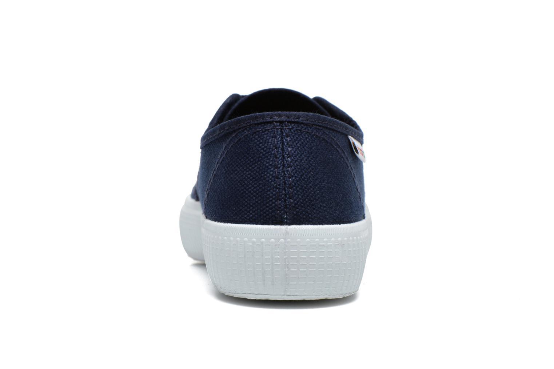 Sneaker Victoria Blucher Lona Gruesa blau ansicht von rechts