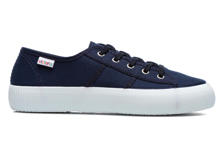 Sneaker Victoria Blucher Lona Gruesa blau ansicht von hinten