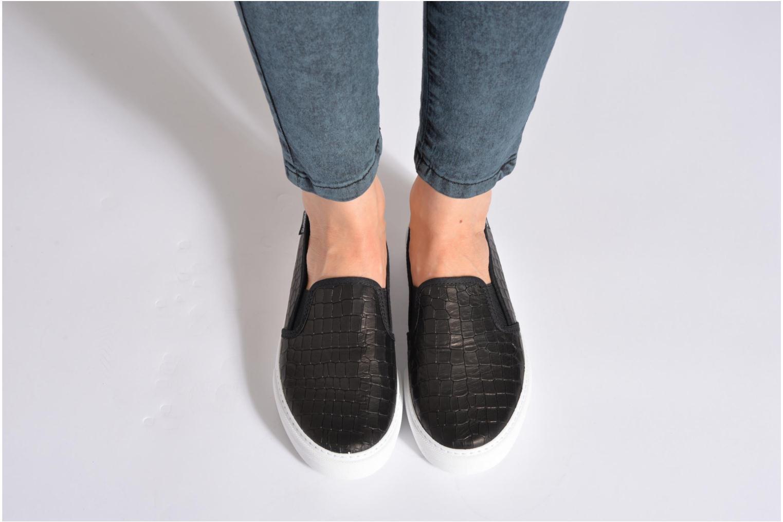Sneakers Victoria Slip-on Grabada Nero immagine dal basso