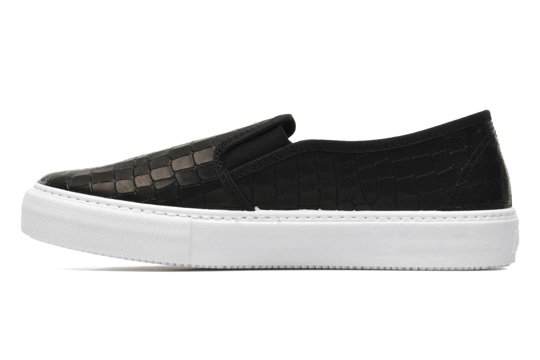 Sneakers Victoria Slip-on Grabada Nero immagine frontale