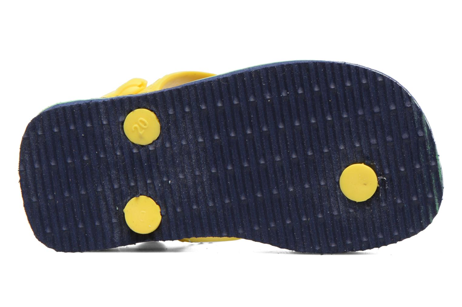 Flip flops Havaianas Baby Brazil Logo Blue view from above