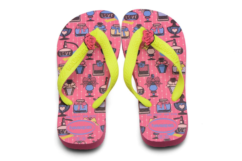 Slippers Havaianas Kids Fantasy Roze model
