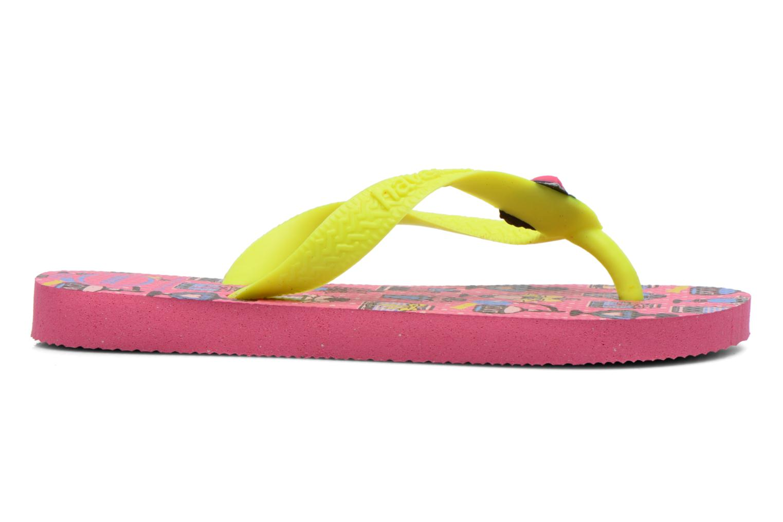Slippers Havaianas Kids Fantasy Roze achterkant