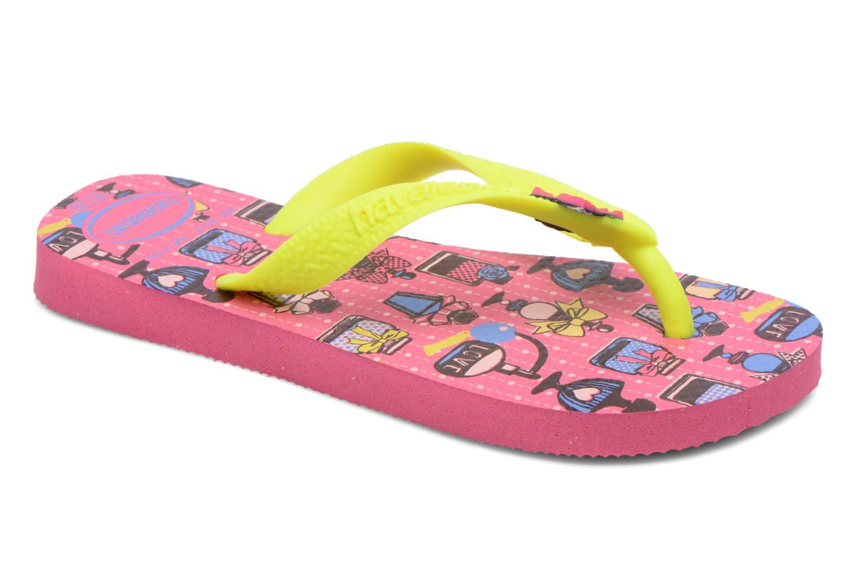 Slippers Havaianas Kids Fantasy Roze detail