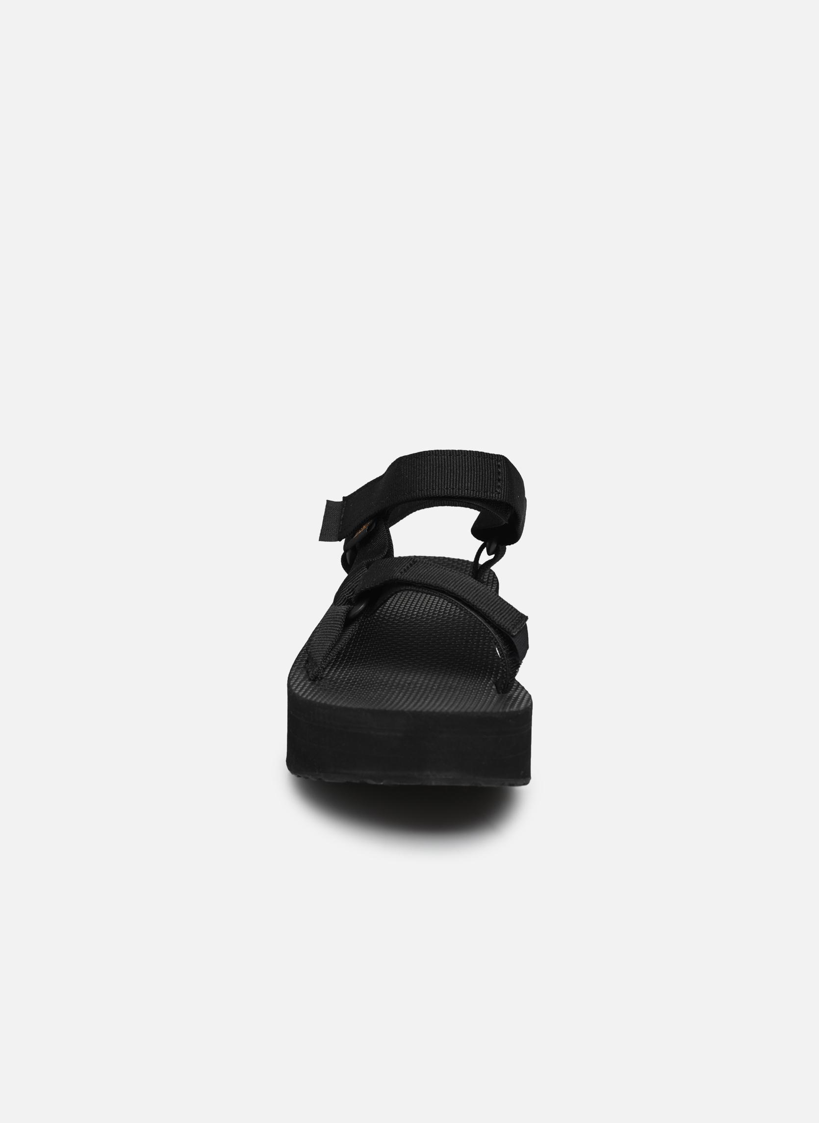 Sandales et nu-pieds Teva Flatform Universal Noir vue portées chaussures