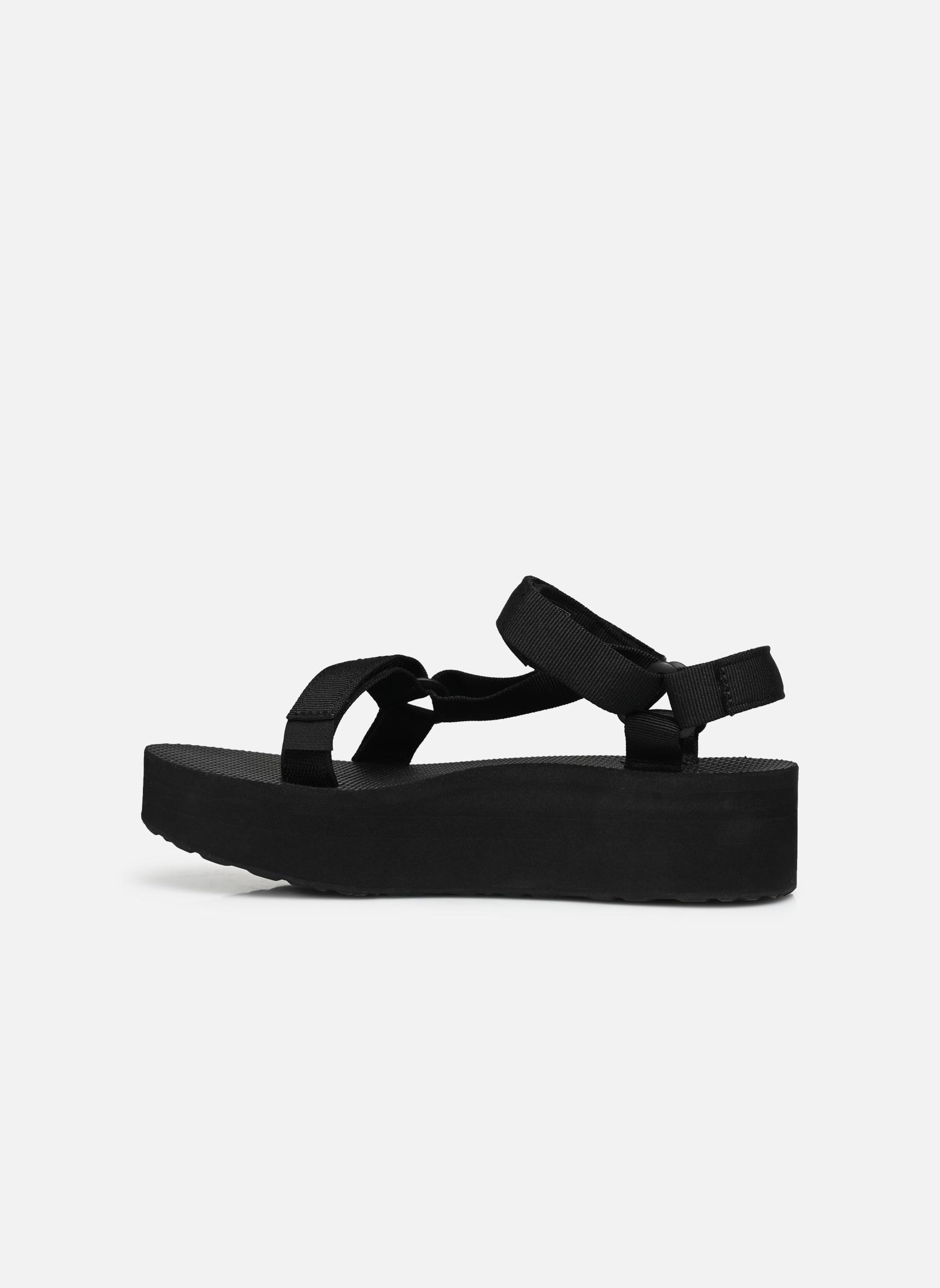 Sandali e scarpe aperte Teva Flatform Universal Nero immagine frontale