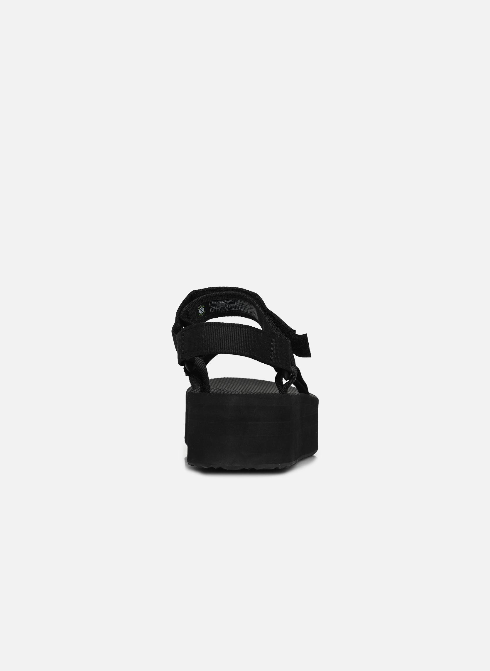 Sandales et nu-pieds Teva Flatform Universal Noir vue droite