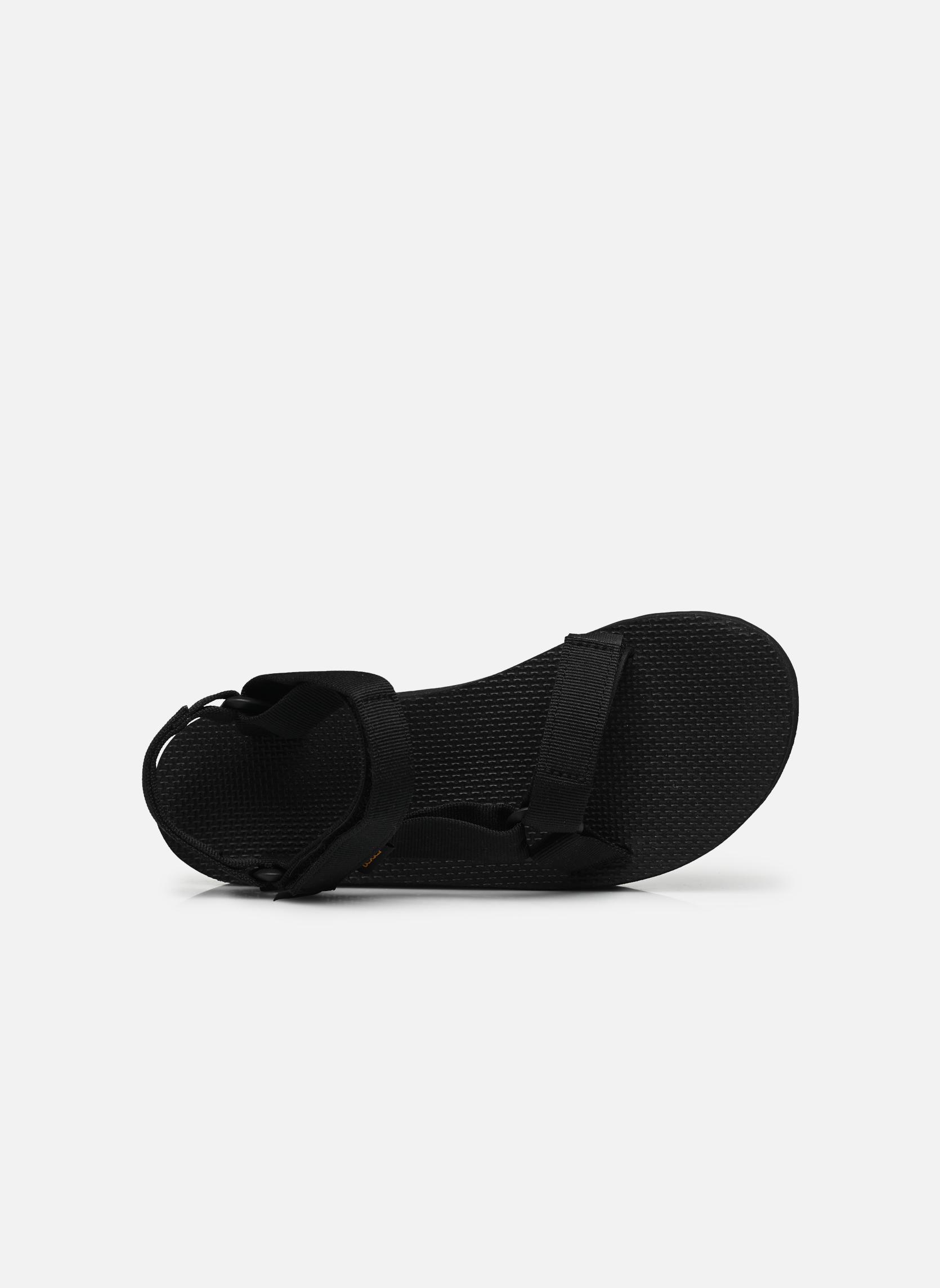 Sandales et nu-pieds Teva Flatform Universal Noir vue gauche