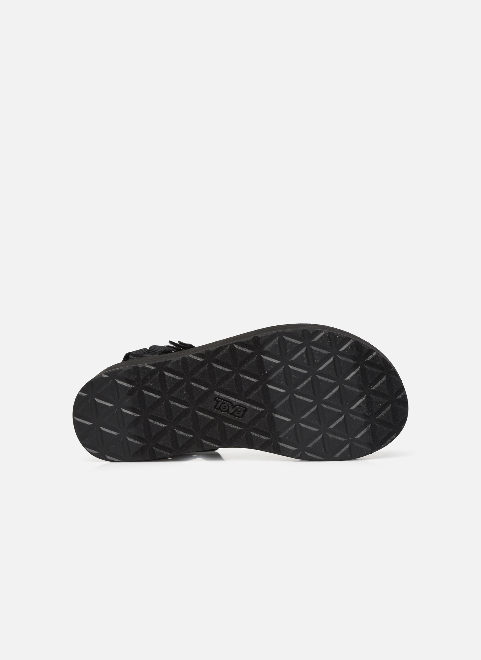 Sandales et nu-pieds Teva Flatform Universal Noir vue haut