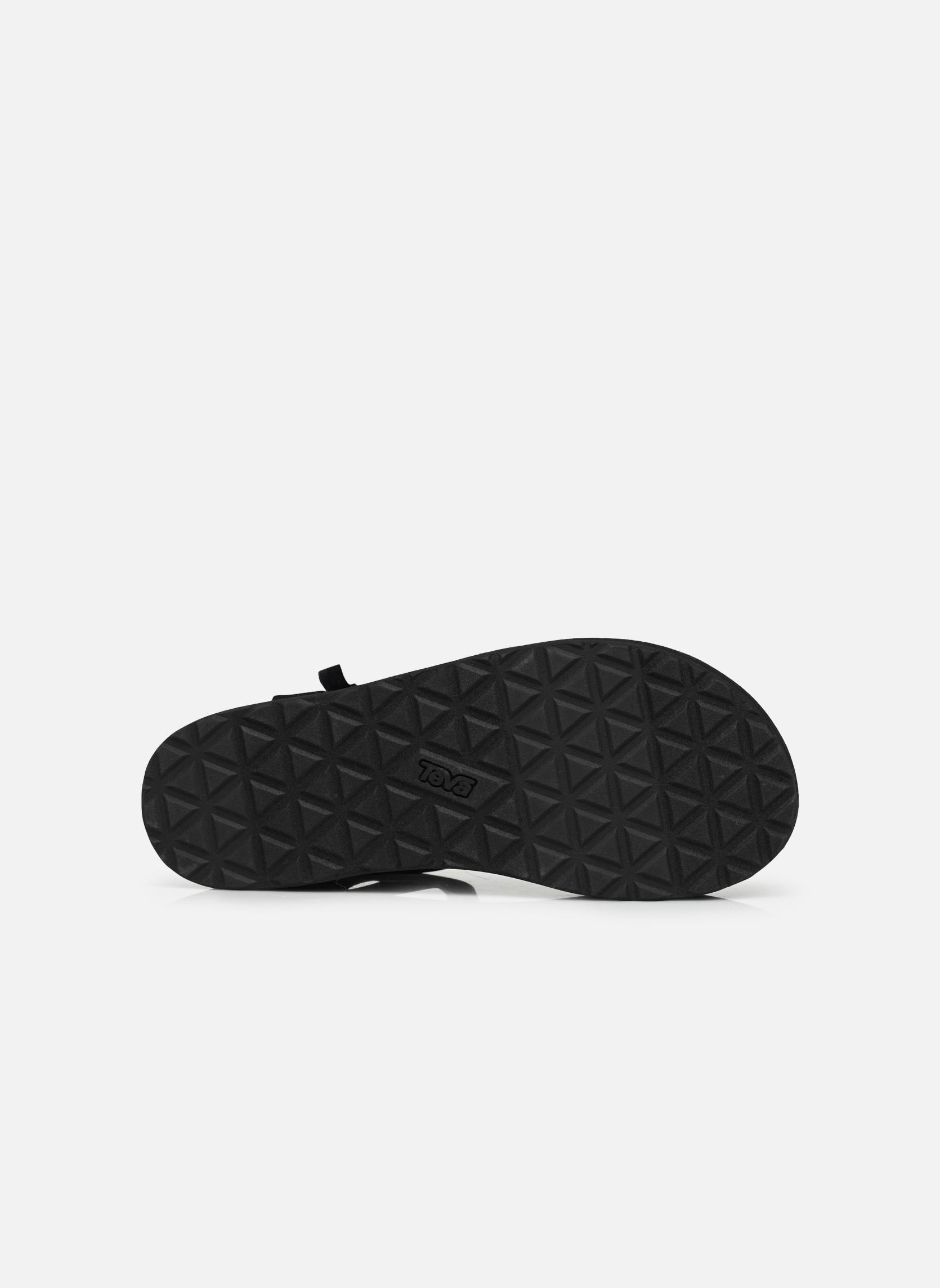 Sandali e scarpe aperte Teva Flatform Universal Nero immagine dall'alto