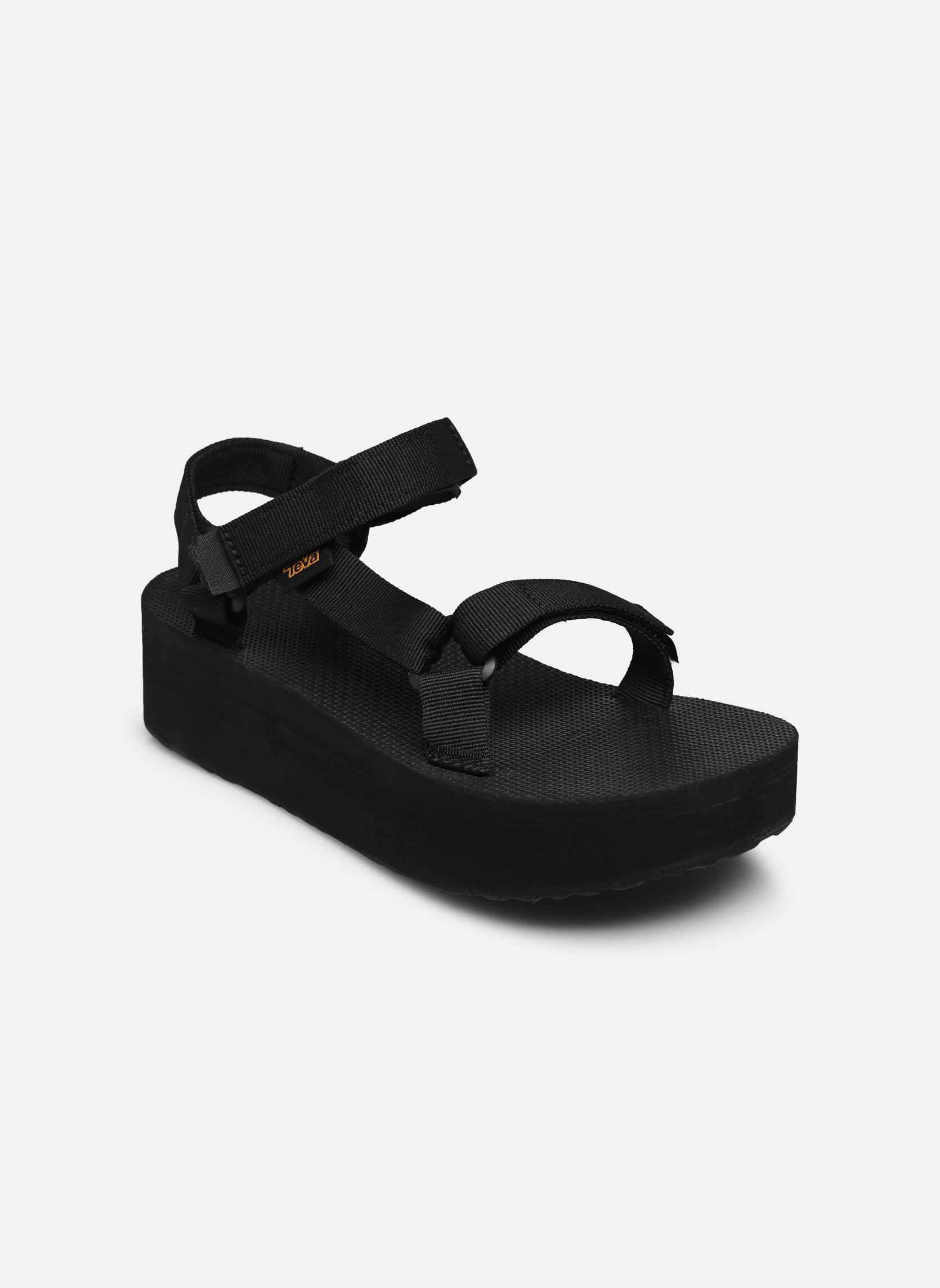 Sandales et nu-pieds Teva Flatform Universal Noir vue détail/paire