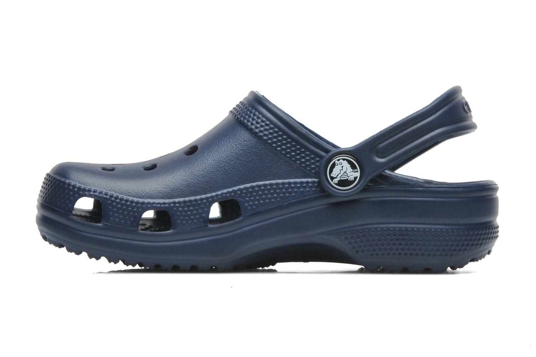 Sandales et nu-pieds Crocs ClassicKids Bleu vue face