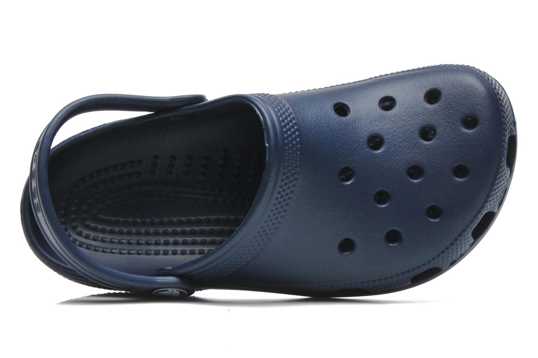 Sandales et nu-pieds Crocs ClassicKids Bleu vue gauche