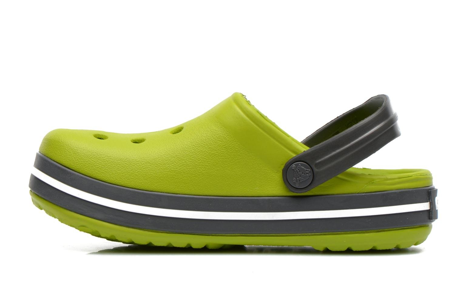 Crocband Kids Volt Green/Graphite