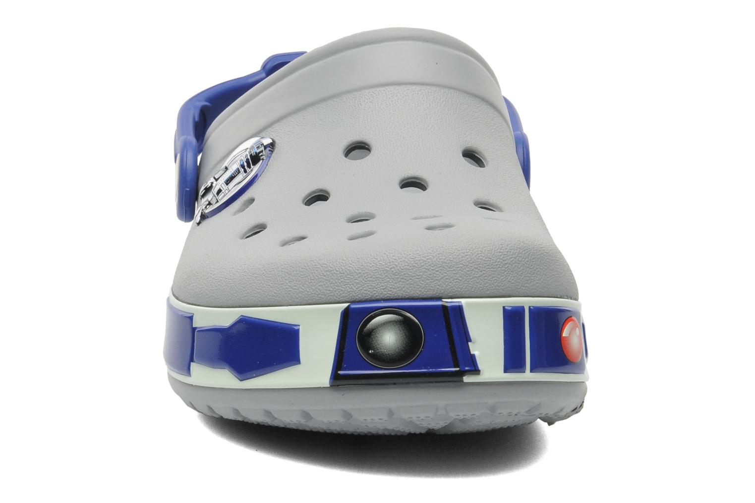 CB Star Wars R2D2 Clog Light Grey/Cerulean Blue