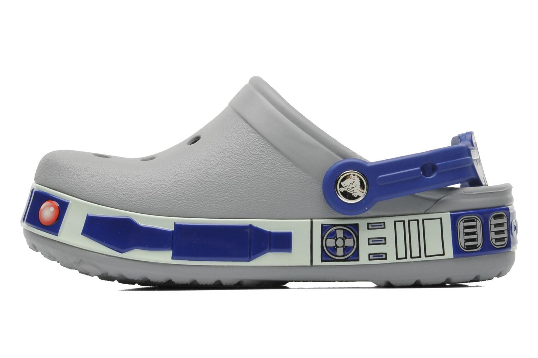 Sandales et nu-pieds Crocs CBStarWarsR2D2Clog Gris vue face