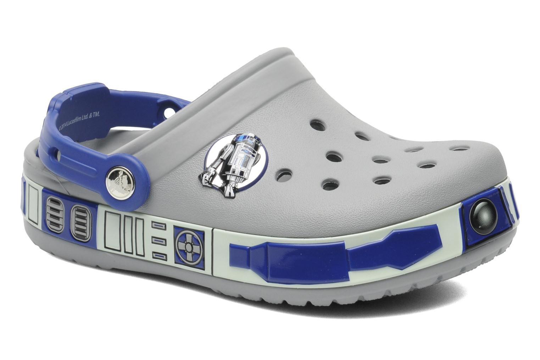Sandales et nu-pieds Crocs CBStarWarsR2D2Clog Gris vue détail/paire