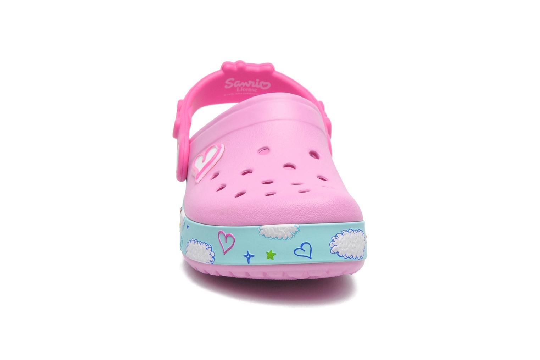 Sandales et nu-pieds Crocs CBHelloKittyPlaneClogEU Rose vue portées chaussures