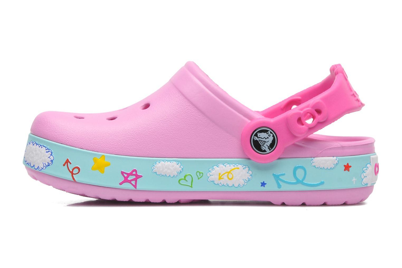 Sandales et nu-pieds Crocs CBHelloKittyPlaneClogEU Rose vue face