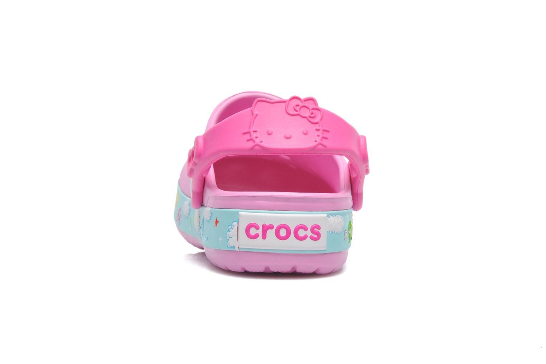 Sandales et nu-pieds Crocs CBHelloKittyPlaneClogEU Rose vue droite