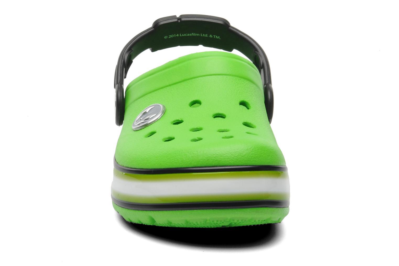 Sandalen Crocs CrocsLightsStarWarsYodaClg grün schuhe getragen