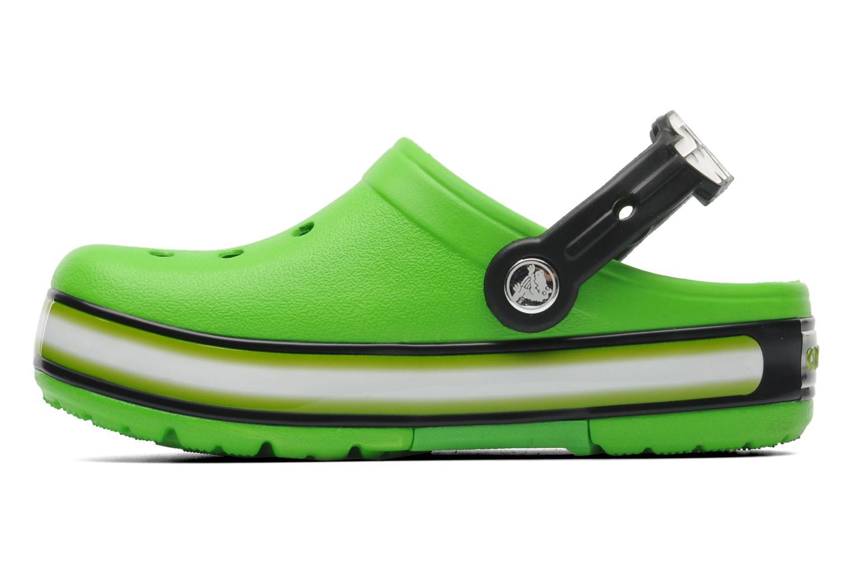Sandalen Crocs CrocsLightsStarWarsYodaClg grün ansicht von vorne