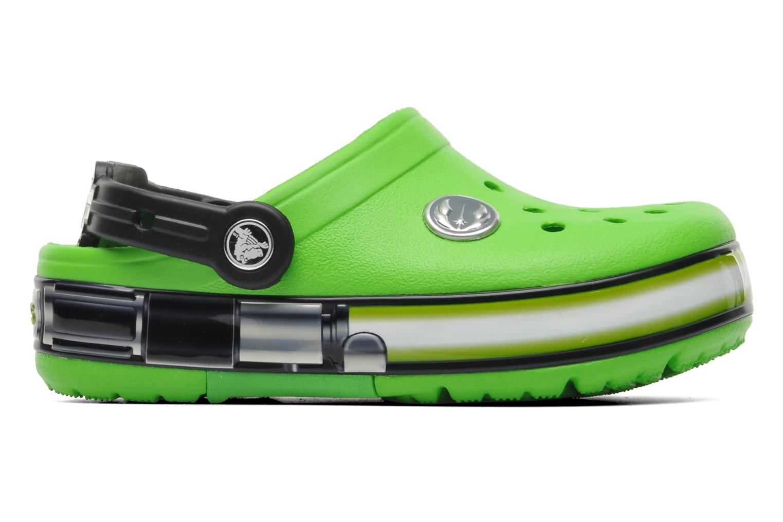 Sandalen Crocs CrocsLightsStarWarsYodaClg grün ansicht von hinten