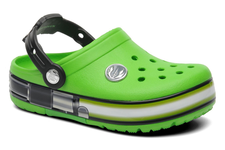 Sandalen Crocs CrocsLightsStarWarsYodaClg grün detaillierte ansicht/modell