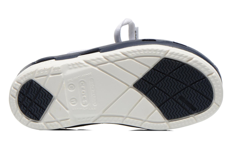 BeachLineBoatShoeLacePS Navy/white