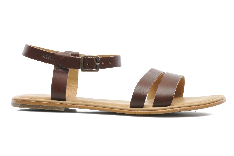 Sandalen Aigle Cambia braun ansicht von hinten