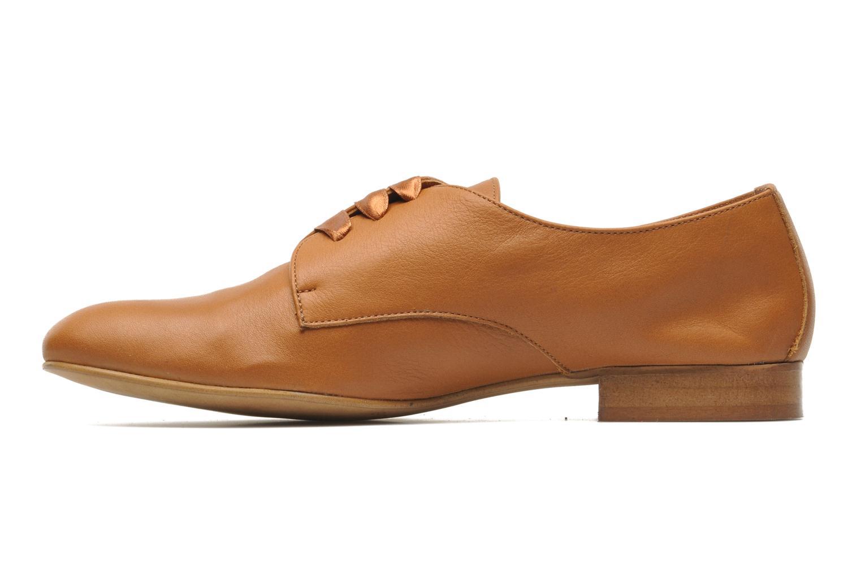 Chaussures à lacets Georgia Rose Amuk Marron vue face