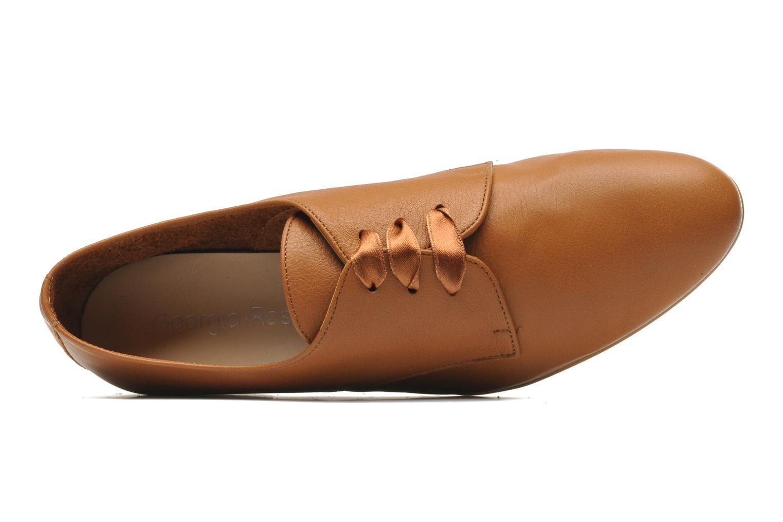 Chaussures à lacets Georgia Rose Amuk Marron vue gauche