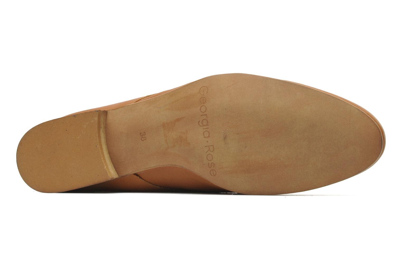 Chaussures à lacets Georgia Rose Amuk Marron vue haut