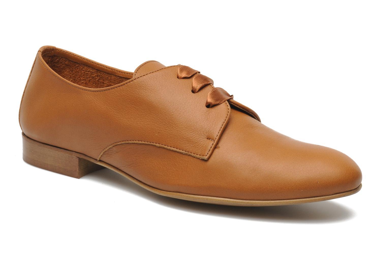 Chaussures à lacets Georgia Rose Amuk Marron vue détail/paire