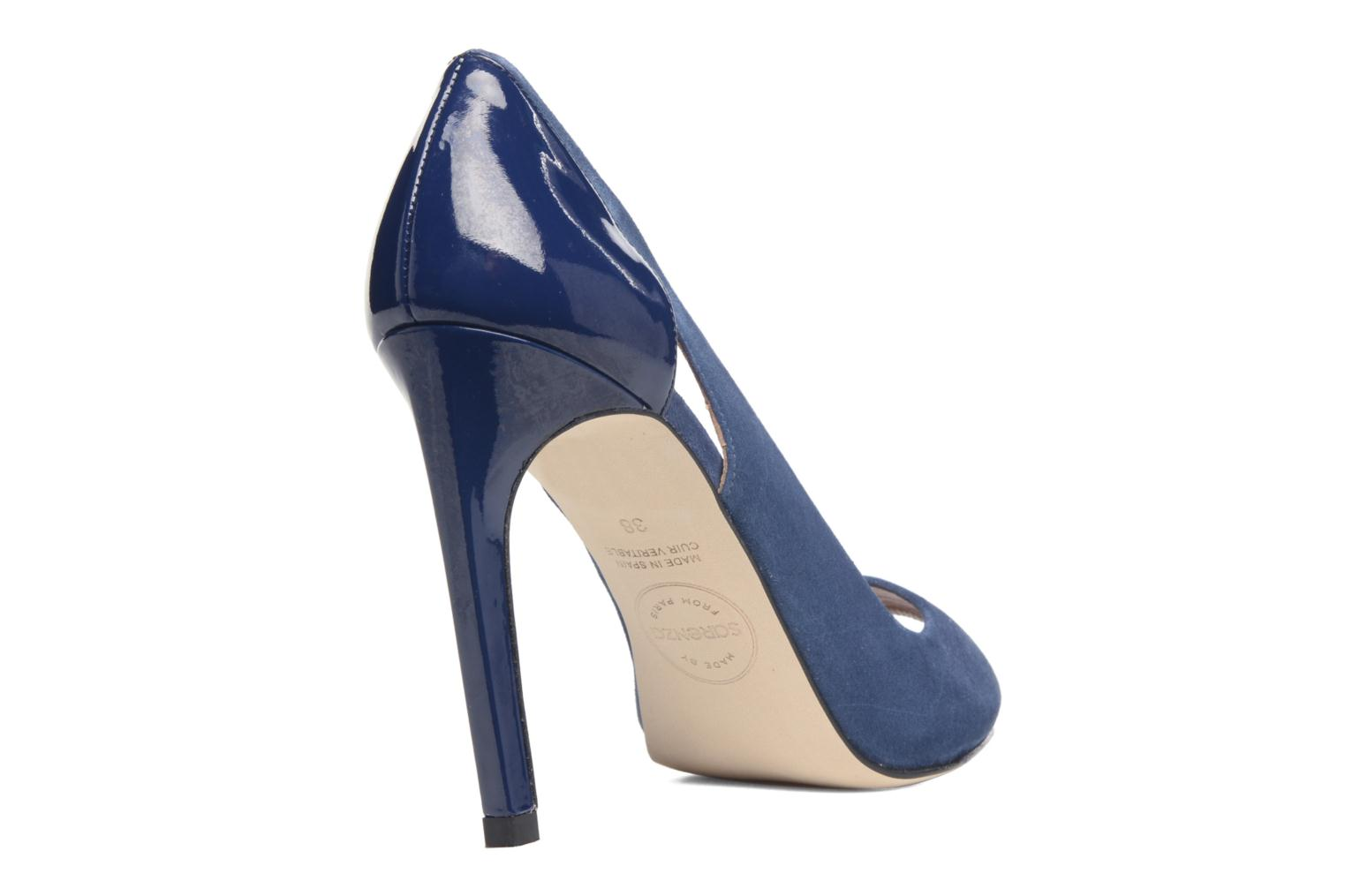 High heels Made by SARENZA Carioca Crew Escarpins #7 Blue front view